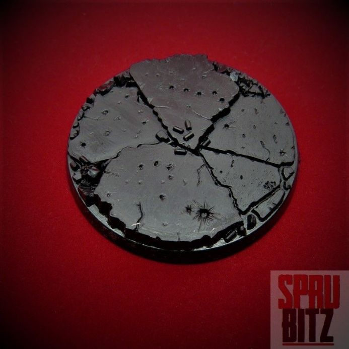 64mm Base Games Workshop Round Large Scenic Dreadnought Bases